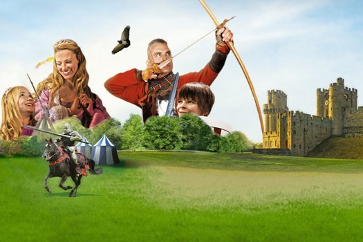 Overnight stay and family ticket to warwick castle from for Overnight stay in paris