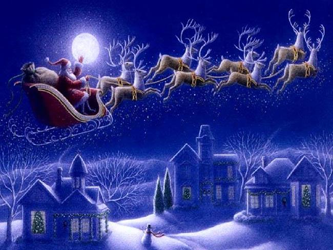 santa sleigh-650