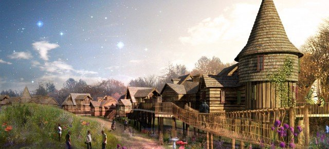 Family break in new enchanted village alton towers for Overnight stay in paris