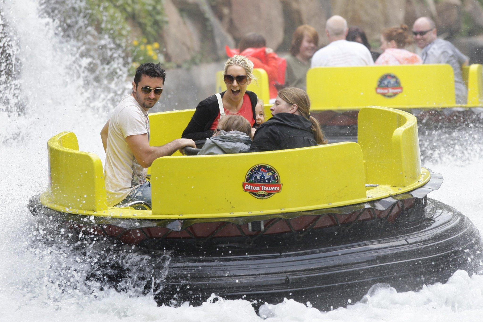 nti Alton Towers rapids