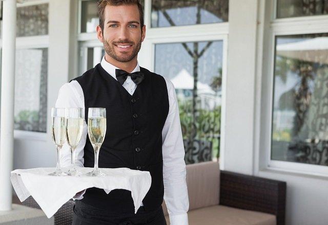 waiter flirting