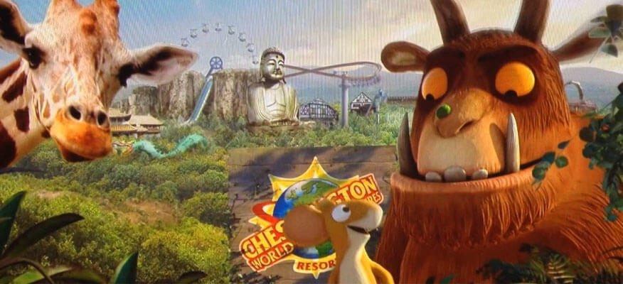 New Gruffalo Ride Themed Hotel Rooms Chessington World