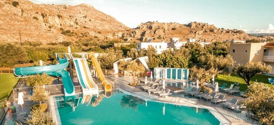Rhodes 7 Nights All Inclusive August 4 Hotel 3 Pools