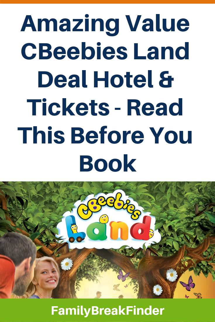 Amazing Value CBeebies Land Deal Hotel & Tickets - Read This Before You Book