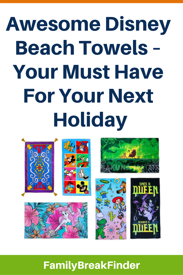17 Awesome Disney Beach Towels – Your Must Have For Your Next Holiday