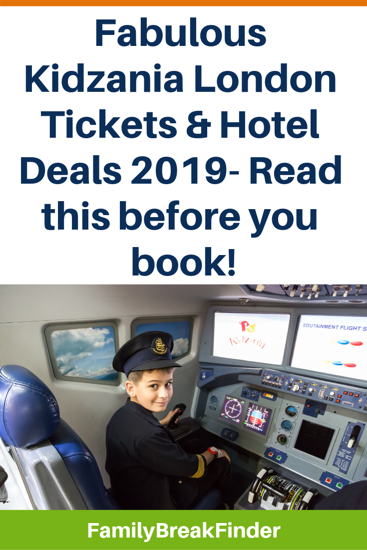 Kidzania London Discounts: Tickets & Hotel Deals
