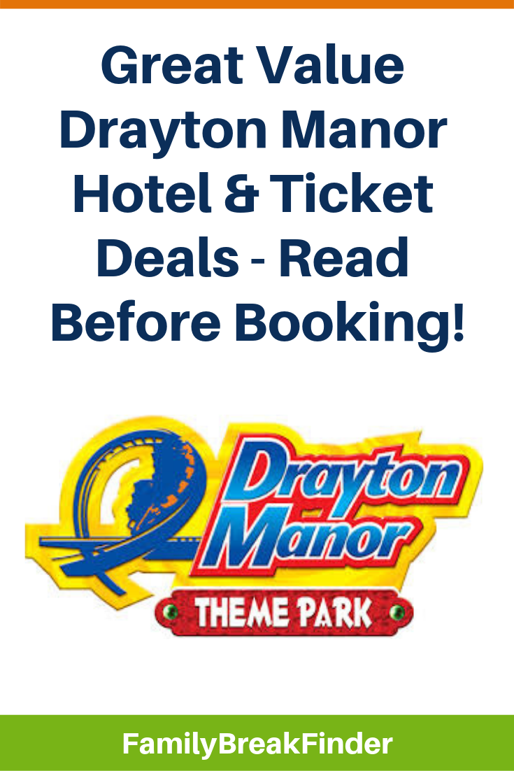 Drayton Manor Hotel & Ticket Deals in 2019 (Your Step-by-Step Guide)