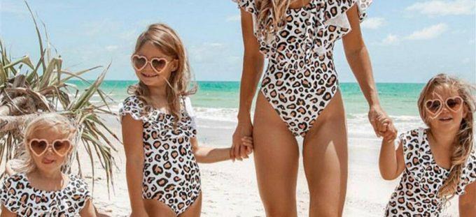 Mother Daughter Matching Swimwear