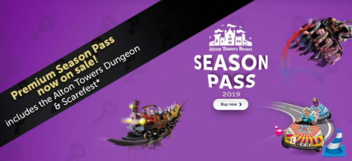 Alton Towers Season Pass