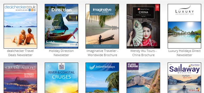 Free Travel Brochures By Post