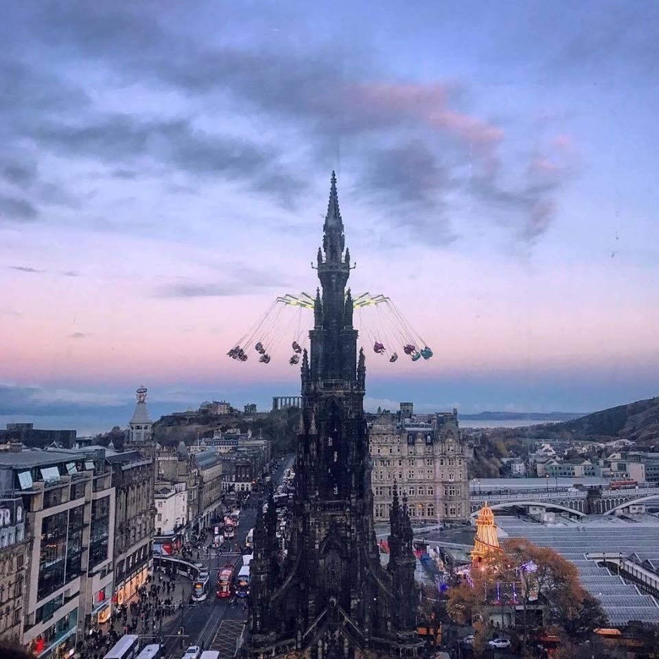 Edinburgh Christmas Market 2018