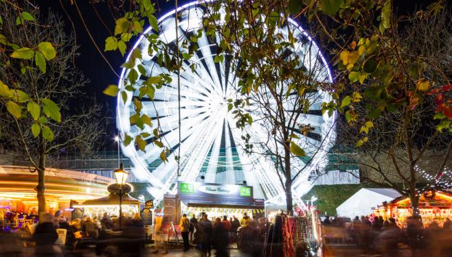 The Big Wheel Lincoln Christmas Market