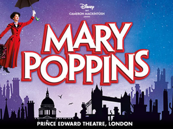 £119pp (from Just Book Sports) for an overnight 4* London stay and Mary Poppins theatre tickets, £149pp for two nights, £189pp for three nights, or £219pp for four nights!