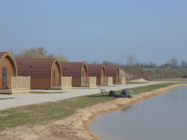 £89 (at Janson Fishery Lodge) for a two-night glamping pod stay for a family of three, £129 for three nights, or £169 for four nights - save up to 51%