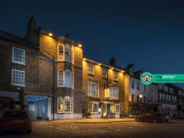 £89 (at The Golden Fleece Hotel) for an overnight Thirsk, Yorkshire break for two people with breakfast, a bottle of Prosecco each and late check out, or £119 for two nights