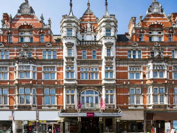£99 (at Mercure Leicester The Grand Hotel) for an overnight 4* Leicester stay for two with £22pp dinner credit and breakfast, or £159 for two nights - save up to 48%