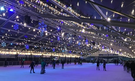 45-Minute Ice Skating Session for Up to Four at Icescape (Up to 44% Off)
