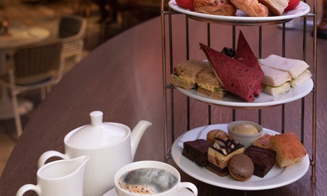 Afternoon Tea with an Optional Glass of Bubbles for Two or Four at Novotel London Heathrow (Up to 44% Off)