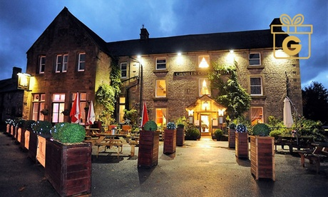 Derbyshire: 1 or 2 Nights for Two with Breakfast and Option for Two-Course Dinner at 4* Charles Cotton Hotel