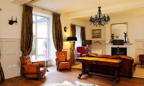 Edinburgh: Standard, Large or Four Poster Room for Two with Breakfast, Afternoon Tea, Prosecco and Late Check-Out