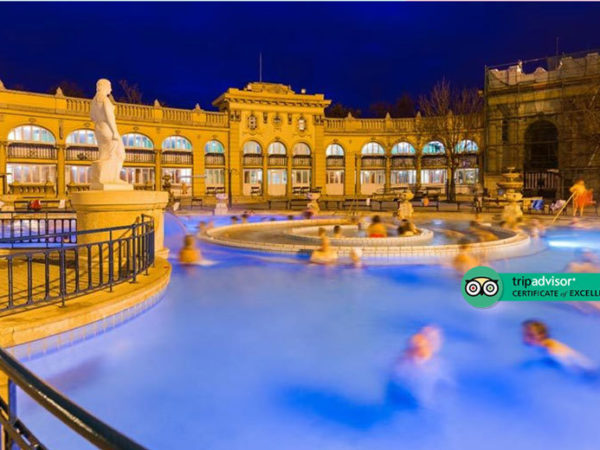 Escape on a two or three-night 4* Budapest stay with breakfast, Széchenyi Spa entrance and return flights - now with the ability to choose your flight!