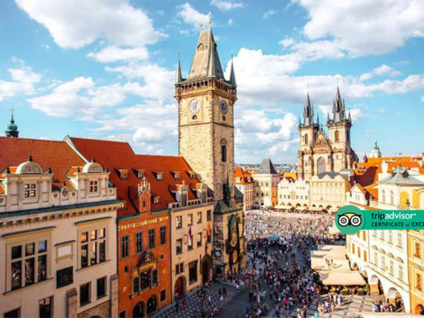 Escape with a two, three or four-night 4* Prague getaway - Now with the ability to choose your flight!