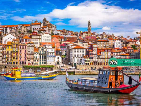 Escape with a two, three or four-night 4* getaway to Porto - Now with the ability to choose your flight!