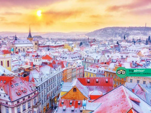 Escape with a two, three or four-night 4* getaway to Prague - Now with the ability to choose your flight!