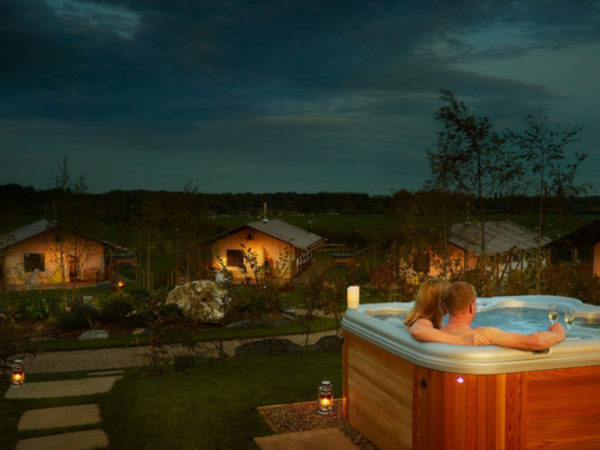 From £329 (at Love 2 Stay, Shrewsbury) for a three-night glamping lodge stay for up to six with private hot tub and private assault course session - save up to 58%
