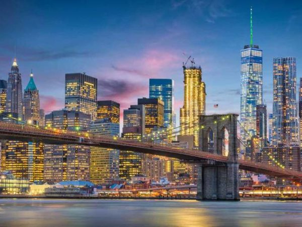 From £399pp (from Worldwide Tours & Travel) for a three-night New York city getaway with return flights, from £479pp for four nights, from £509pp for five nights - save up to 25%