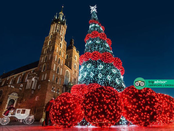 From £89pp (from Bargain Late Holidays) for a two-night 4* Krakow Christmas break with breakfast and return flights, from £139pp for three nights, or from £159pp for four nights - save up to 39%