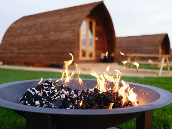 From £95 (at Millside Wigwams, Lincolnshire) for a two-night glamping stay for up to four people and two dogs, or £135 for a three-night stay - save up to 44%