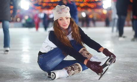 Ice Skating Session with Skate Hire for Two or Four at Bradford Ice Arena (Up to 50% Off)