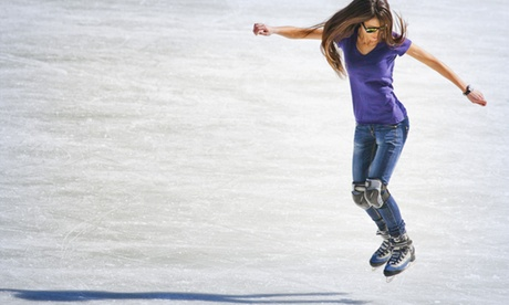 Ice Skating, Skate Hire and Optional Afternoon Tea for Up to Four at Champneys Eastwell Manor (Up to 61% Off)