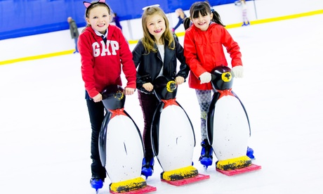 Ice Skating for Family of Up to Two Adults and Three Children at Live Active (34% Off)