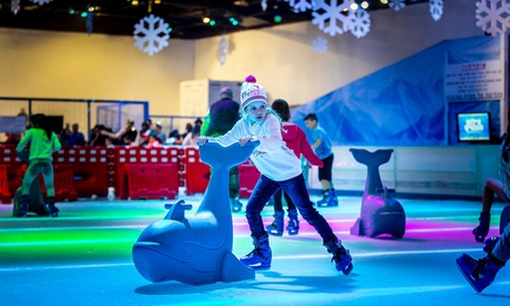 Ice Skating for One Child or One Adult at Woburn Sands Emporium (Up to 20% Off)