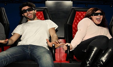 One or Two 5D Cinema Tickets for Up to Four People at Vertigo VR (Up to 55% Off)