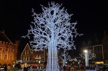 Visit Bruges Christmas Market.