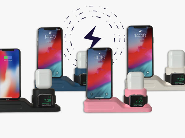 £10 instead of £29.99 (from Flashing Pineapple) for an iPhone, airpods and apple watch charging station - save 67%
