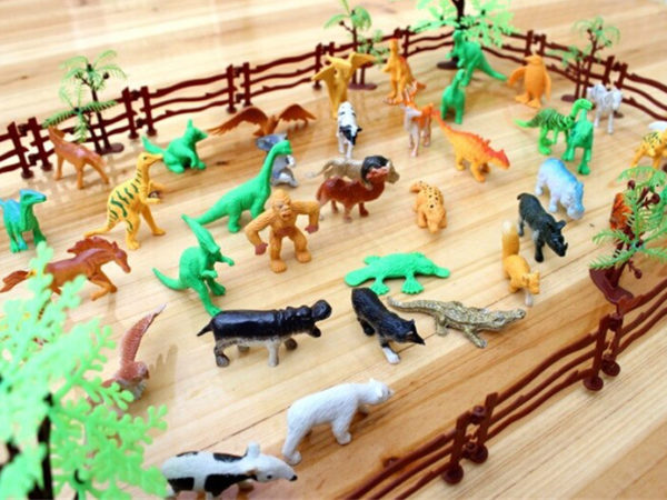 £10.99 (from WowWhatWho) for a 68 piece simulation zoo toy