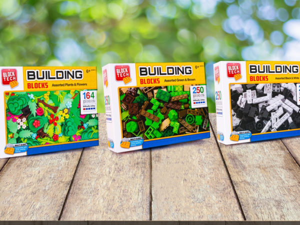 £10.99 instead of £19.99 (from Vivo Mounts) for a set of three building block sets - save 45%