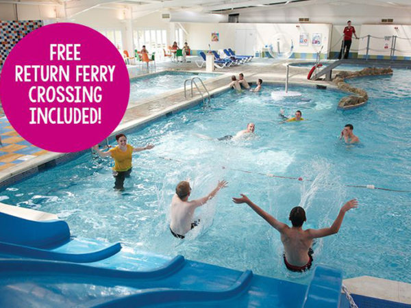 £109 (from Parkdean Resorts) for a four-night midweek Isle of Wight self-catered break for up to six people with return ferry transfer, £119 for a three-night weekend stay