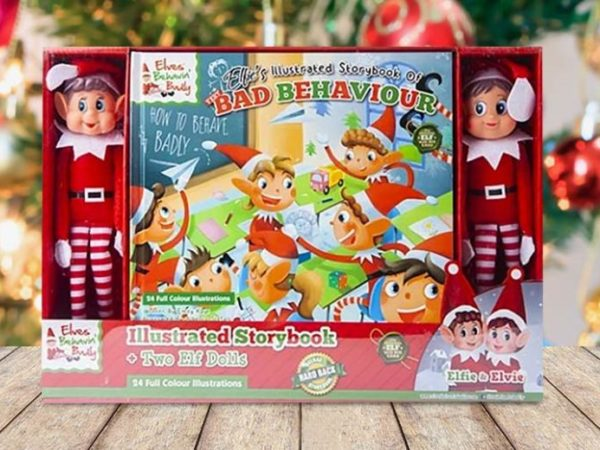 £11 instead of £29.99 (from Pricebuster) for an elf hardback book set with two dolls - save 63%