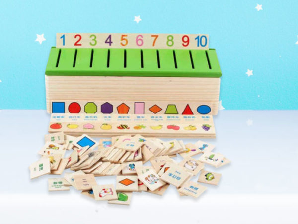 £11.99 instead of £29 (from SpeZ Zee) for a kids' toy wooden classification box - save 59%