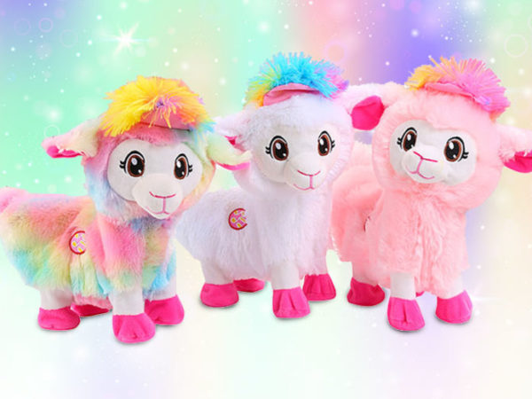£11.99 instead of £30 (from SpeZ Zee) for a kids' plush alpaca toy - choose from three colours and save 60%