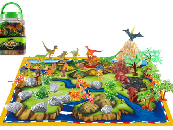 £11.99 instead of £31.99 (from Spezzee) for a kid's dinosaur world play set - save 41%