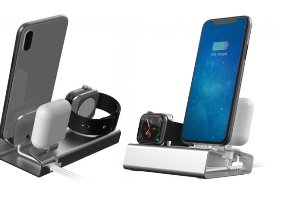 £12.99 instead of £29.99 (from Wow What Who) for an Apple compatible aluminium alloy charging stand - choose your colour and save 57%