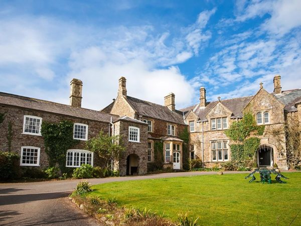 £149 -- Devon country manor getaway with dinner, was £270