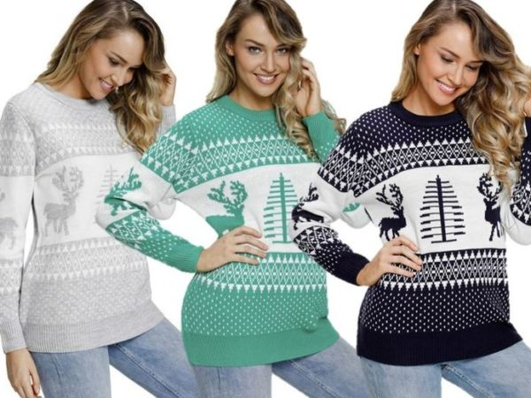 £16 instead of £49.99 for a roundneck reindeer jumper from Shenzhen Zeyuan Warehousing Logistics Co Ltd - Wow What Who - save 68%