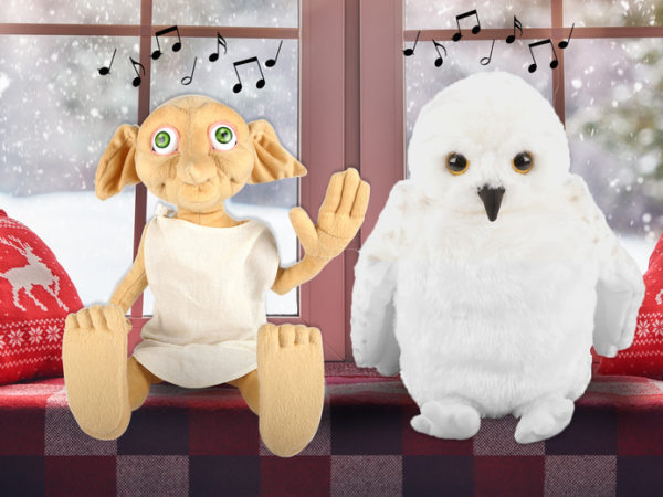 £19 instead of £37.49 (from Wow! Stuff) for a Dobby plush interactive toy or £22 for a Hedwig toy - save up to 49%